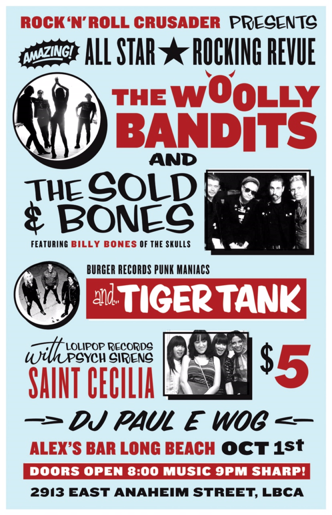 Woolly Bandits Live Tour Date Shows Long Beach