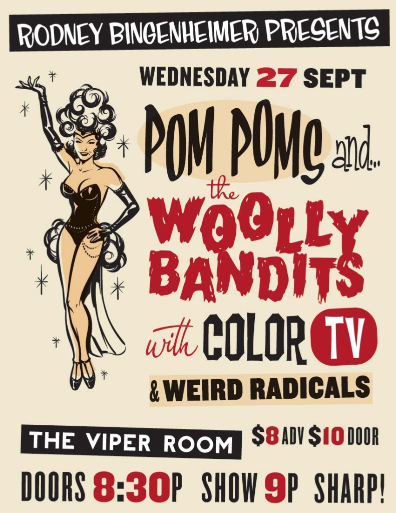 Woolly Bandits live Performance Viper Room
