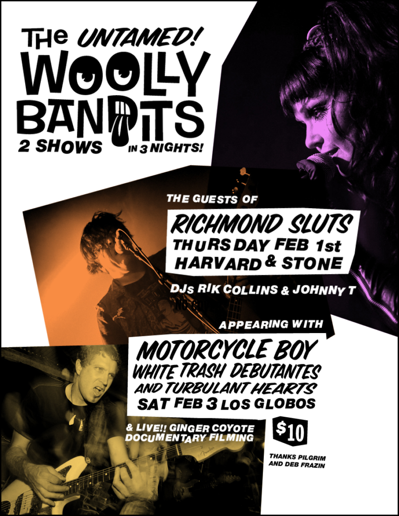 Woolly Bandits Feb 2018 Los Globos Los Angeles