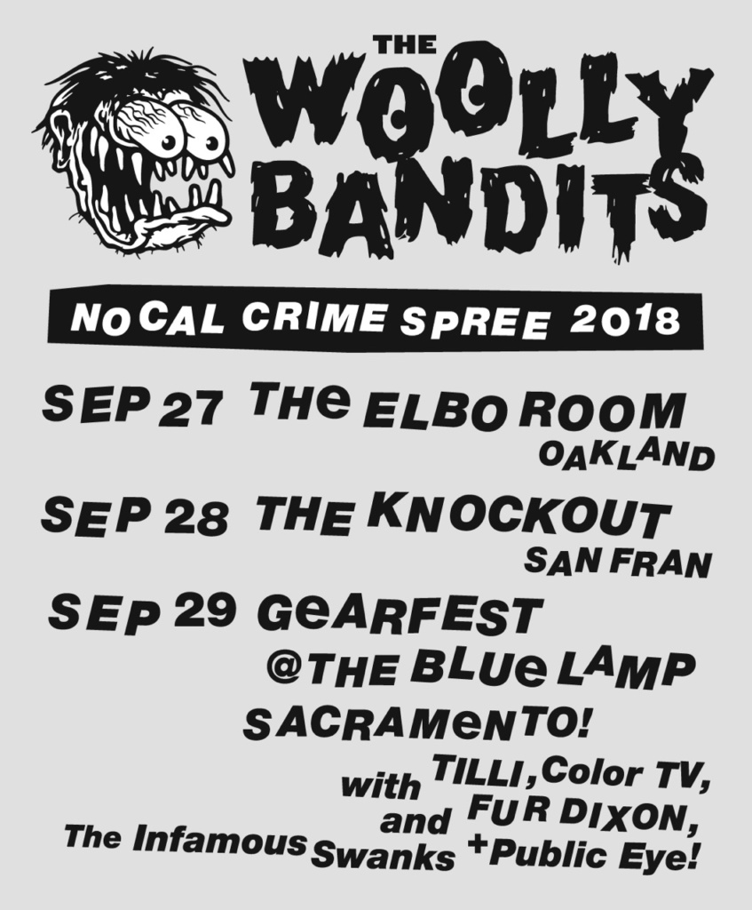 woolly bandits elbow room knockout
